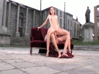 Incredible pornstar Marsha Lord in horny small tits, outdoor sex video