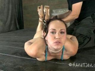 Toy fetish slave juicy pussy screwed using toy in BDSM