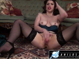Anilos - Hot Housewife Has Intense Orgasm