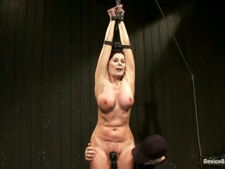 Busty MILF Magdalene St Michaels Bounded and Toyed