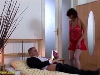 Skinny Stepmom Gets Pumped And Anal Fucked (7)