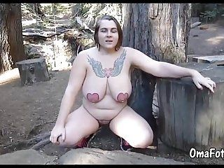 OmaFotzE Homemade and Amateur Naturay Nude Footage (4)