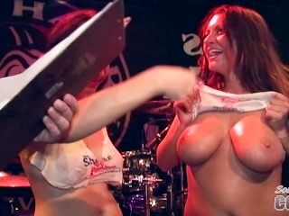 Awesome Wet T-Shirt Contest And Behind The Scenes Nudes A Poppin Festival