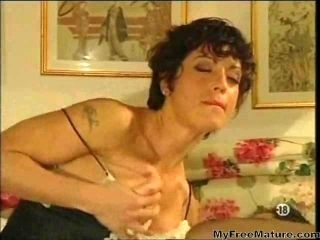 Two Granny French Wives In Lingerie Want Cock