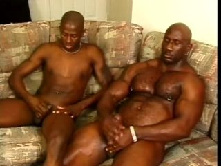 Muscular Gay Dude Bangs His Partner Then Jerk Off Together