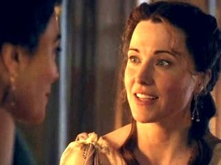 Spartarcus: Lucy Lawless y Jaime Murray
