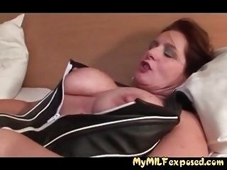 My MILF Exposed Sexy amateur wife in crotchless stockings