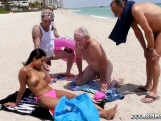 Kimberly's Old Couple Seduce Porno Men And Very Granny First Time