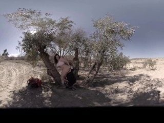 VR Porn Outside experiences: Fuck me hard in the desert!  Virtual Porn 360