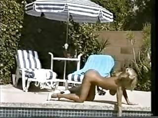 Crystal Gold At The Pool