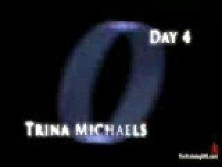 Day 4 of Trina Michaels slave training