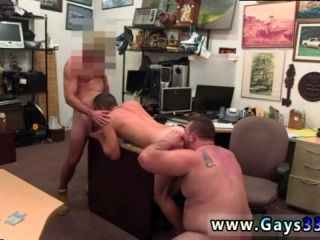 Straight men fucking  boys gay Guy ends up with assfuck fuckfest threesome