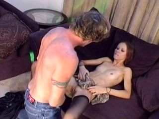 Torn Redhead Slut Tracie Trixxx Is Screwed In Her Asshole In A Missionary Position
