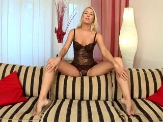 Sexy Anal Blonde Valentina Rossi Gets Double Penetrated and Facialized