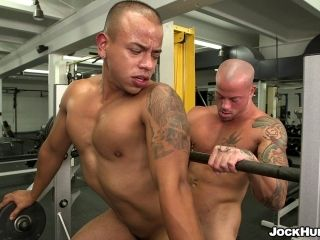 Hardcore Blowjob And Anal Banging With A Hot Gay Porn Couple