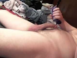 Rubbing One Out Lying Down (2)