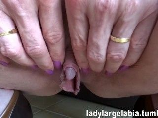 My Big Clit And Large Labia