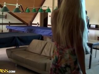 Autumn & Grace & Molly & Olie & Savannah in college sex video with a group of hot chicks (2)