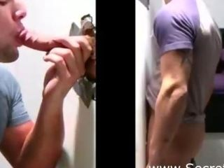 Straight Man Fooled Into Hot Gay Bj Through Gloryhole