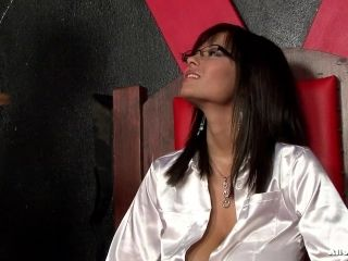 Dark-Haired Cougar With Glasses Having A Food Fight With Two Other Girls (2)