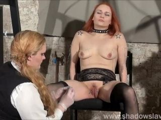 Dirty Mary lesbian pussy whipping and amateur bdsm of play piercing redhead (3)