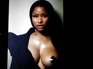 Nicki Minaj cum tribute 7