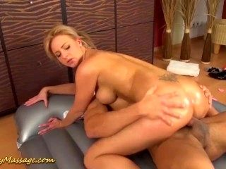 slippery massage sex with Nathalie Cherie (9)
