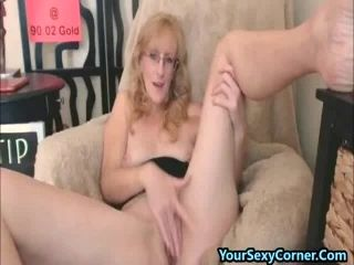 Fingering Hairy Pussy And Butt Plugs Is What This Mature Loves (6)
