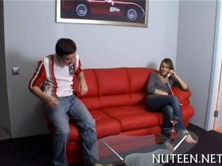 Small Tits Teen Gets Fucked By A Fit Young Guy