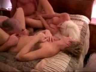 Swinger Mature Couples are having a hot sex party