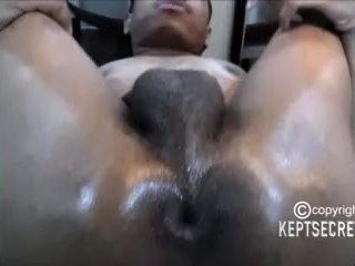 PORN STAR HOLLIWUD GETS HIS BIG BOOTY WRECKED BY A BIG DICK DREAD HEAD DUDE