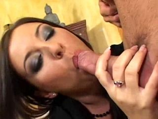 As brunette MILF Maria Bellucci was driving home after shopping at the mall,