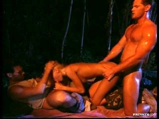Blondes Anita Blond and Laura Palmer Fucked By Three Guys In Orgy