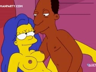 Marge Simpson Fucked Hard carl homer (2)