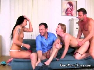 Secretaries Have Orgy With Well Hung IT Guys (2)