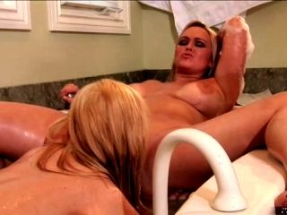 Big tits Abbey Brooks goes crazy with another woman and gets all wet