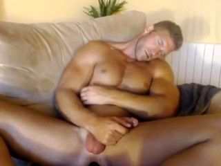 Hot Guy Jacking Off On Cam Falls Asleep