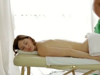 Ariadna Is Getting A Nice Erotic Massage In The Massage Parlor