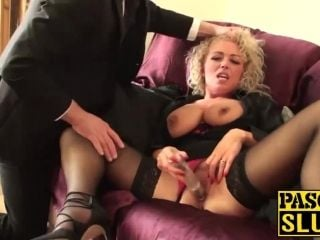 Mature horny blonde Rebecca wants to be punished (4)