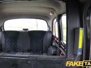 Fake Taxi Saucy hot brunette likes Czech cock (2)