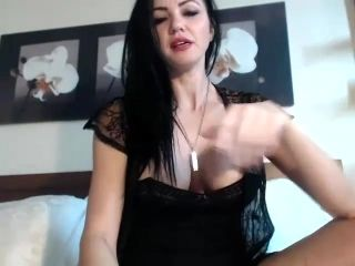 Vampi B shows off her tits  - Part 1