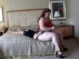 Amazon Amanda Dominating Masked Man