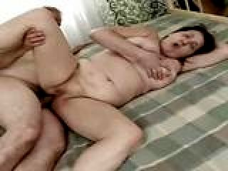 Fat Granny Bends Over And Takes A Husband's Penis
