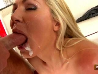 Bitching Blonde Has Her Nagging Mouth Filled