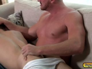 Josh Jammed A Little Toy In Johnnys Anal