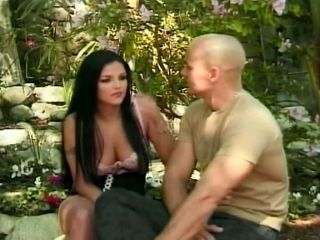 Gorgeous Brunette Lanny Barbie Anal Fucked Outdoor
