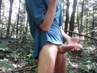 Naked Undies Sniffing In The Forets #1