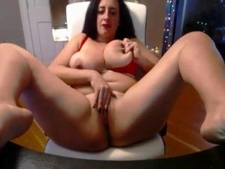 Your breathtaking brunette girl Sam with massive breasts (2)