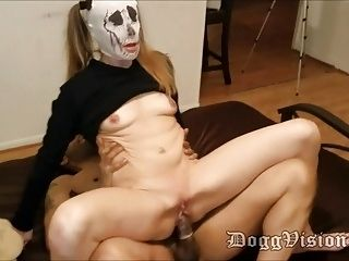 Husband Films Small Tits Blonde Wife with BBC (2)