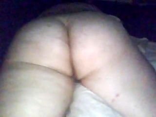 PAWG girlfriend orgasm on pillow